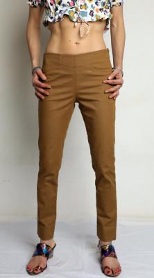 pantalon stretch uni