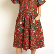 robe large taille basse